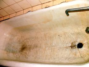 ванна до и после